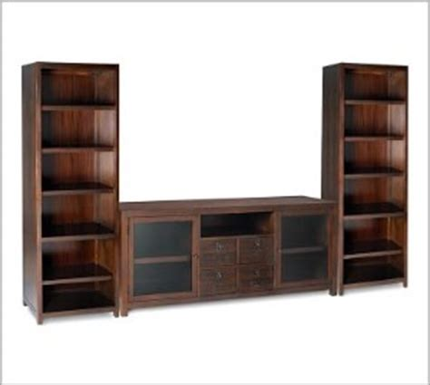 pottery barn media console rhys for sale pottery barn rhys media console towers 800