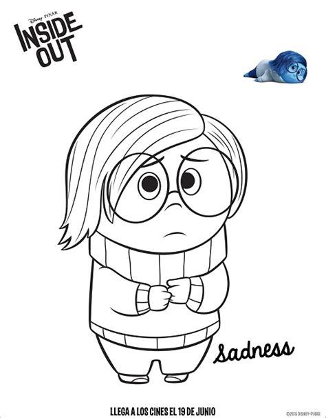 imagenes de tristeza para dibujar dibujos de intensamente tristeza para colorear moldes