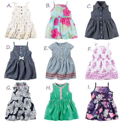 Dress Baby 0 12 Month carters baby summer dress newborn 3 6 9 12 18 24