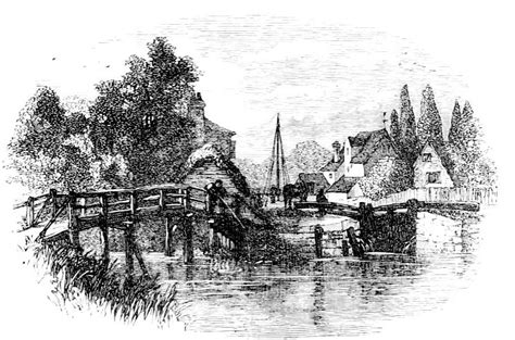 thames river during the industrial revolution osney lock