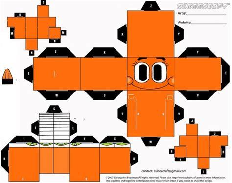 Amazing Papercraft - darwin cubeecraft by gumwin on deviantart the amazing