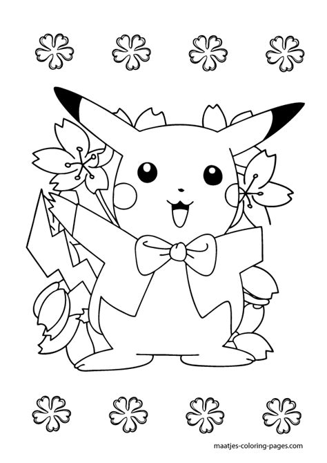 funny pikatchu colouring pages  print enjoy coloring