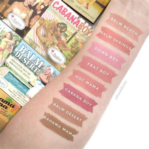 The Balm The Boy Blush the balm cosmetics blush swatches swatches