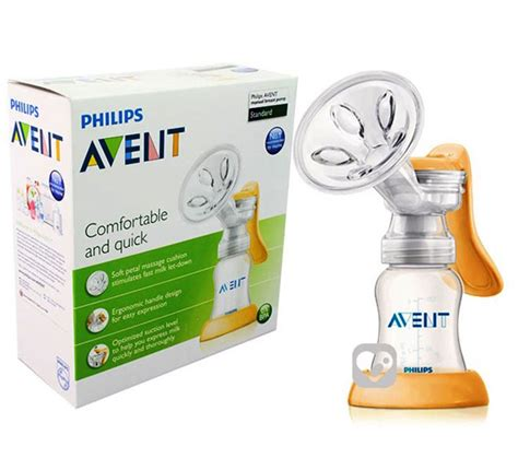 Avent Manual Standard Breastpump featured jual phillip avent standard manual breast