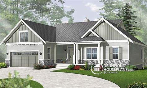 bungalow house plans with basement and garage plan of the week quot bungalow with basement to finish now