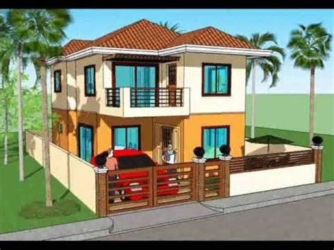Best Two Storey House Plans by House Plans Single Story In The Philippines Studio