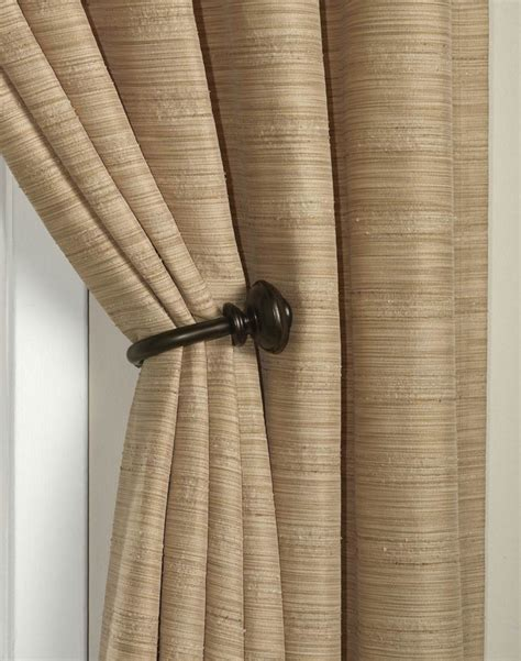 curtain holdbacks placement preston bronze holdback pair curtainworks com