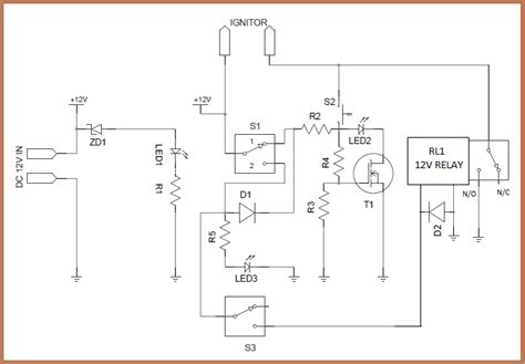 Garage Plans by Model Rocket Launch Controller Circuit
