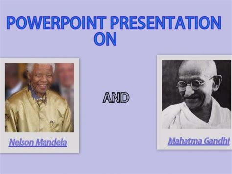 biography nelson mandela slideshare fathers of the nations