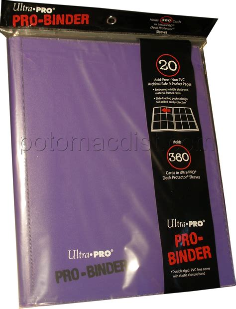Ultra Pro 9 Pocket Orange Pro Binder ultra pro 9 pocket pro binder purple 6 potomac distribution