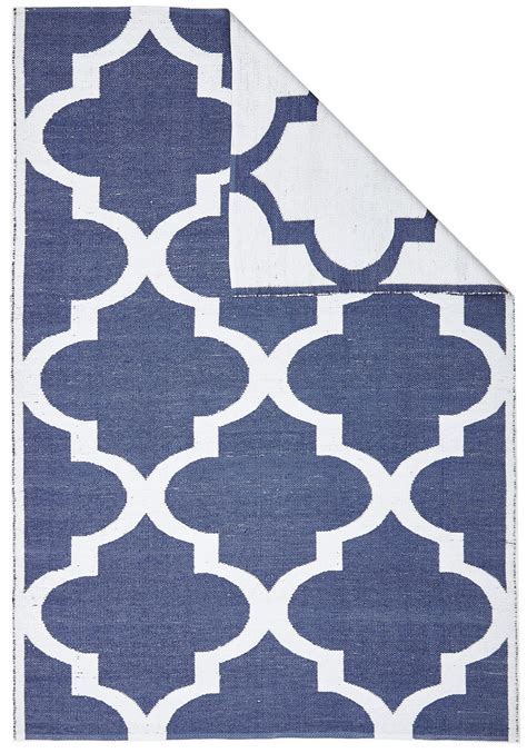 Navy And White Outdoor Rug Outdoor Indoor Rug Trellis Navy White Collection Designer Reversible Pvc Rug B