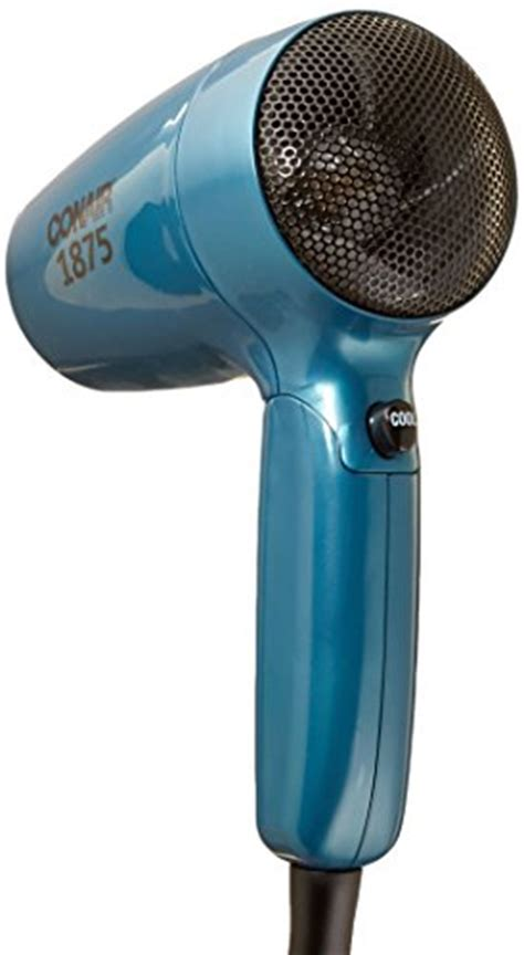 Conair 1875 Hair Dryer Manual conair vagabond compact 1875 watt folding handle hair dryer teal new ebay