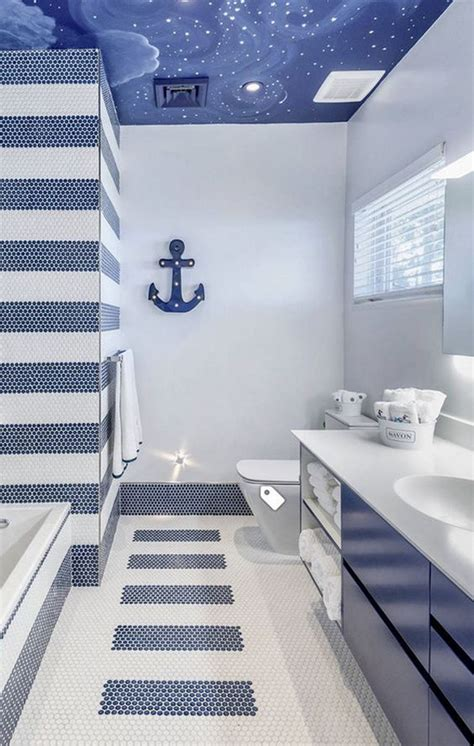 charming beach  coral themed bathroom ideas