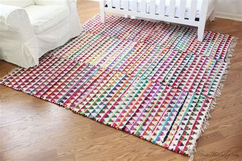 Small Colorful Rugs Sew Small Rugs Into One Big Rug House Mix