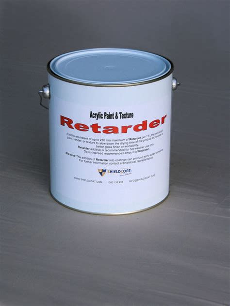 acrylic paint additives retarder drying times or improve gloss levels