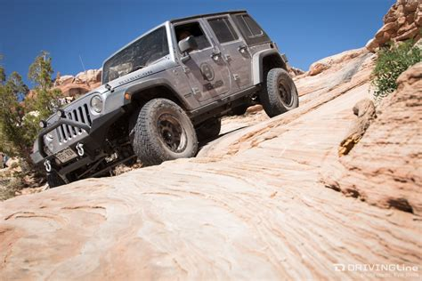 Hill Jeep Kicking Moab Easter Jeep Safari On Wipe Out Hill