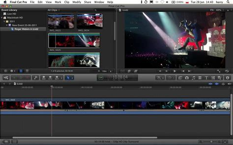 final cut pro in windows 7 apple final cut pro x review review pc advisor