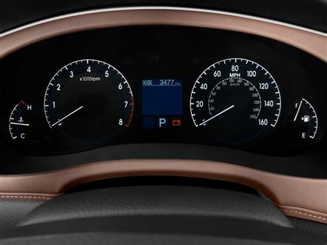 how make cars 2012 hyundai genesis instrument cluster image 2009 hyundai genesis 4 door sedan 4 6l v8 instrument cluster size 1024 x 768 type gif