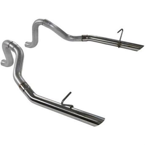 flowmaster mustang 2 5 quot exhaust tailpipes w stainless