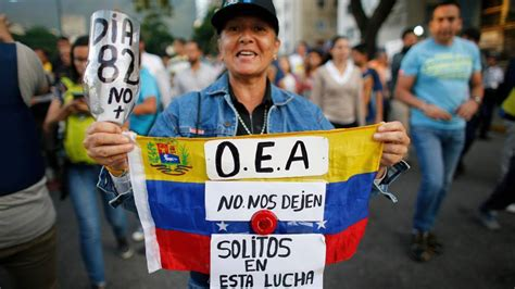 venezuela elections migration   dominate oas