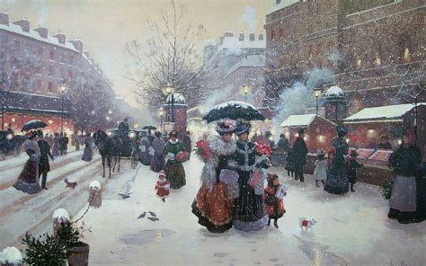 wallpaper christmas in paris wallpaper snow winter umbrella paris france picture