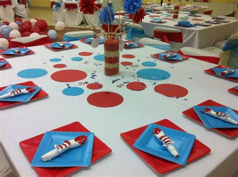 Cat In The Hat Baby Shower Decorations by 445 Best Dr Seuss Images On