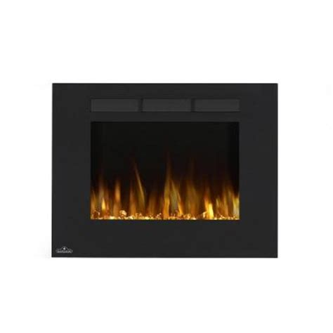 Home Depot Wall Fireplace by Napoleon 32 In Wall Mount Linear Electric Fireplace In