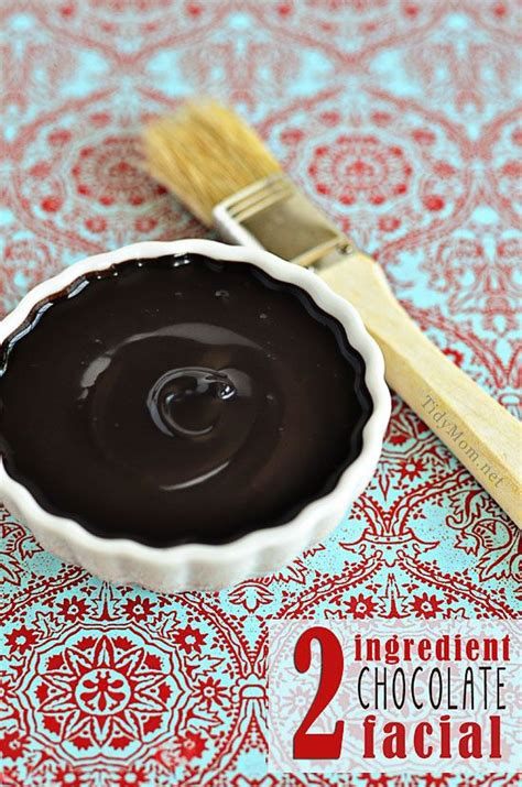 chocolate and mood swings chocolate facial homemade chocolate and facials on pinterest