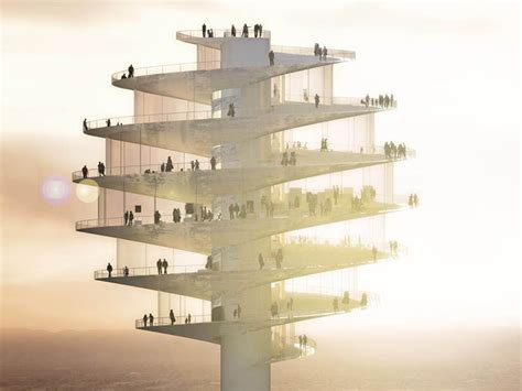 observation tower plans big architects phoenix observation tower