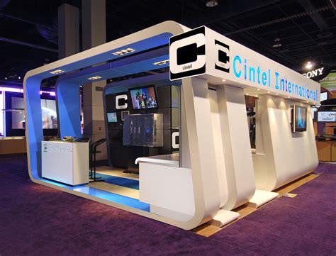 exhibition stand layout design cintel international