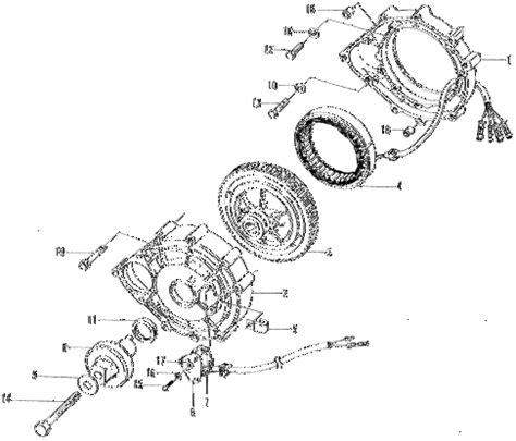 honda store 1970 z600 generator parts