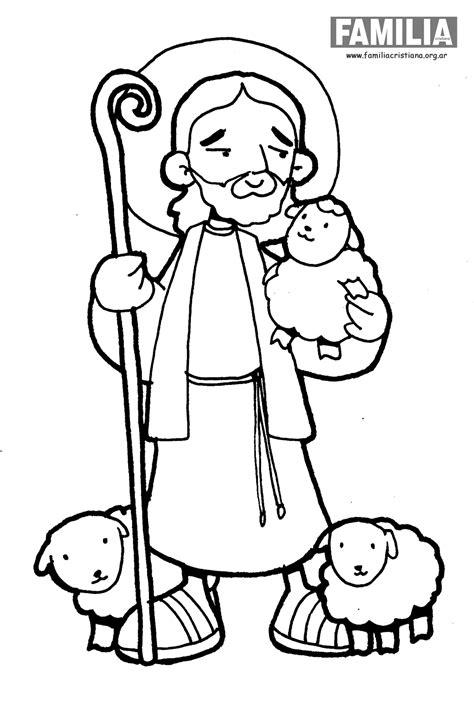 imagenes de jesus el buen pastor para nino jesus buen pastor para colorear imagui