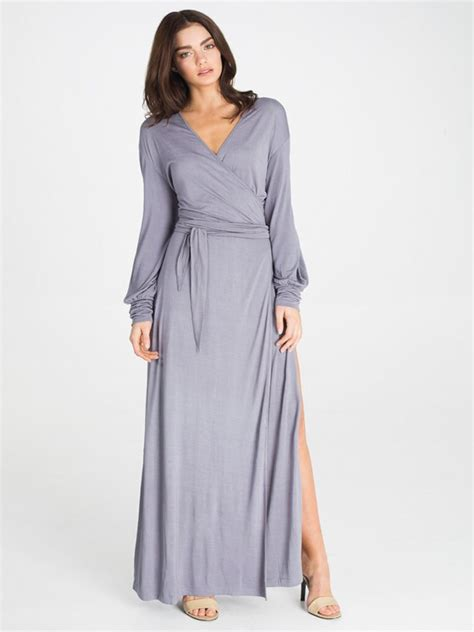 Dear Fashion Mias Robe by Luxury Review The Kate Maxi Robe By Dear Bowie