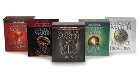 George R R Martin Song Of Ice And Fire Audiobook Bundle