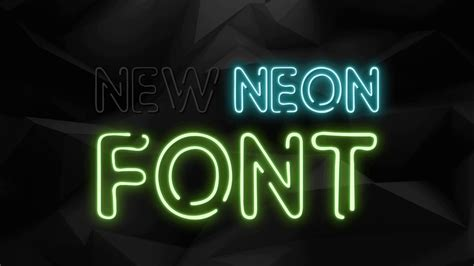 neon animation text effect  maker youtube