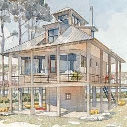 Beach Cottage Plans by Tidewater Cottage Top 25 House Plans Coastal Living