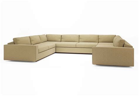 U Shaped Sectional Sofa With Chaise U Shaped Sectional With Chaise Design Homesfeed