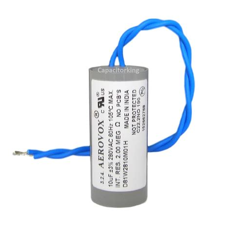 what does a run capacitor do in a furnace what does a capacitor do in a metal halide light 28 images aerovox lighting capacitor 10uf