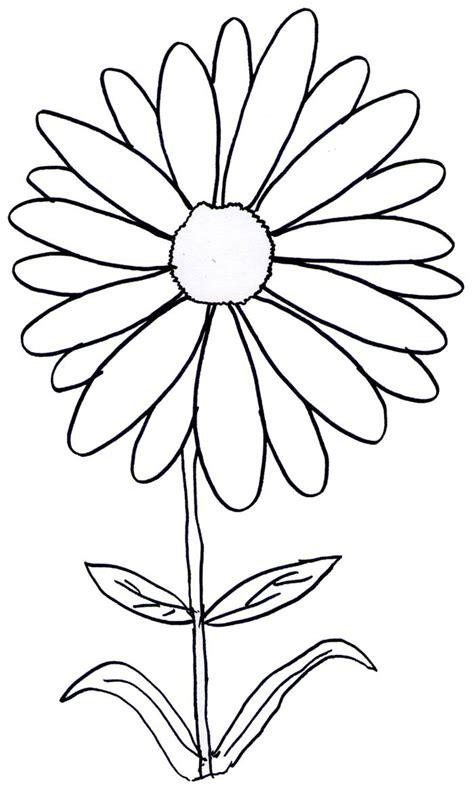 gambar mewarnai bunga  anak tk  sd marimewarnaicom