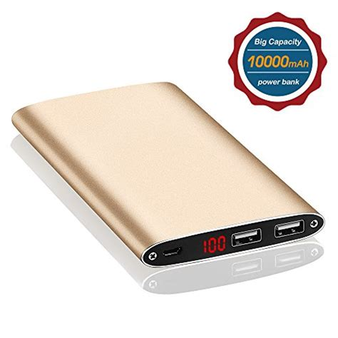 Power Bank Umax 10000mah Ultra Thin Built In Cable Iphone ultra slim 10000mah portable phone charger external battery power bank portable charger