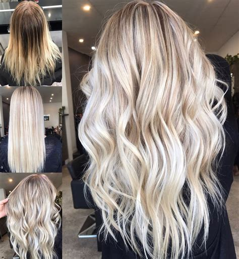 blonde hairstyles balayage hair inspiration instagram hairbykaitlinjade blonde