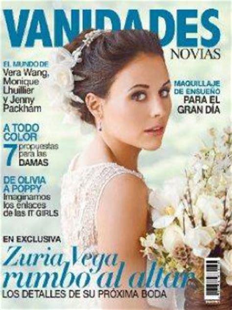 vanidades televisa zuria vega vestida de novia en revista vanidades tv y