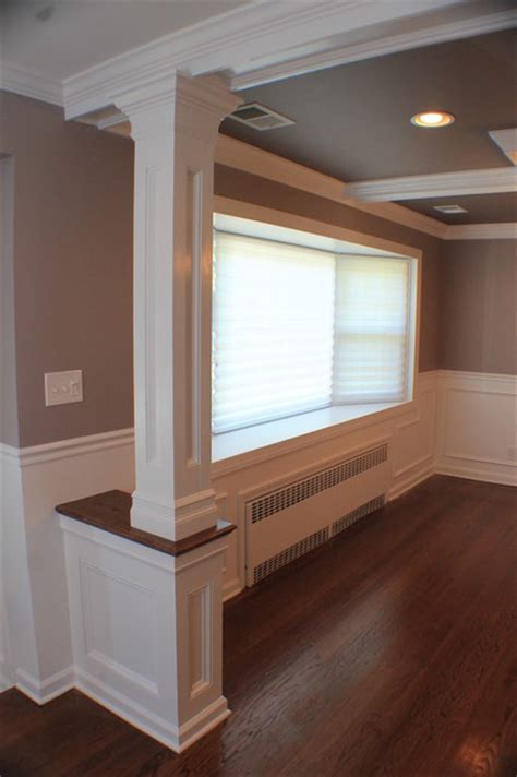 Dining Room Moulding by Coffered Ceiling Moulding Dining Room Columns