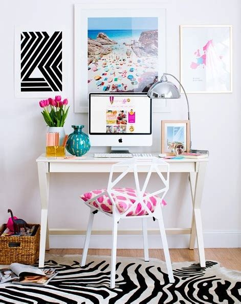 rev your workspace with these chic desktop decorating