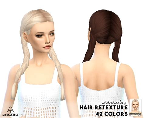 is sims 4 cc free my sims 4 blog clay hair retexture by missparaply