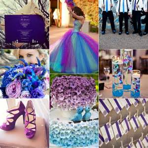 blue and purple wedding colors blue and purple wedding colors