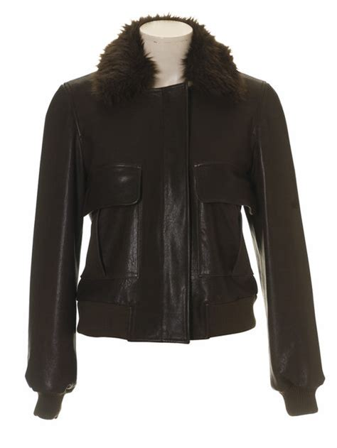 sewing pattern leather jacket leather jacket with detachable fur collar 10 2010 101