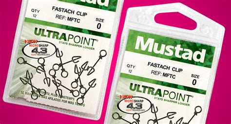 Mustad Fastach Clip Size 1 2 28kg With Bearing Swivel Limited E mustad fastach clip tackle junkietackle junkie