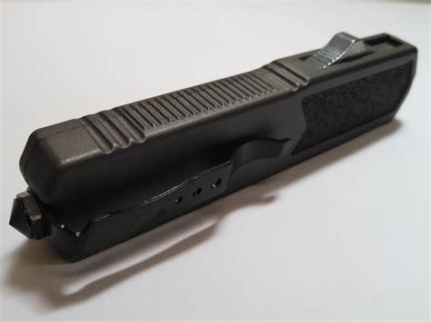 automatic otf knife titan grey d a otf automatic knife