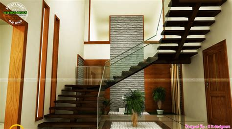 house interior design pictures kerala stairs 4 bedroom 1924 square feet house elevation amazing architecture magazine